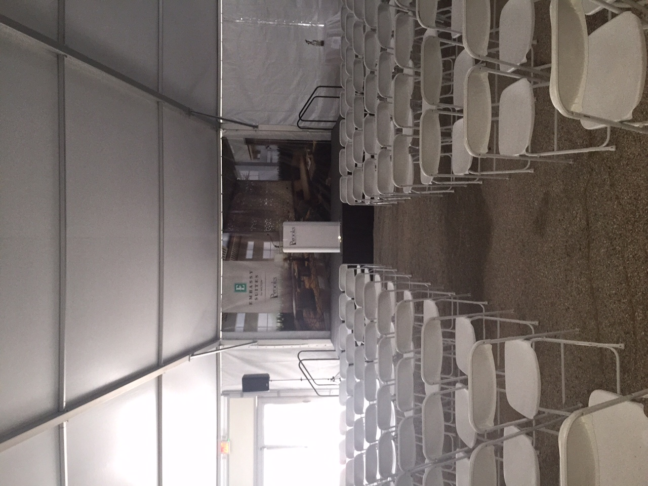 Seating Arrangement in Front of Stage Rental