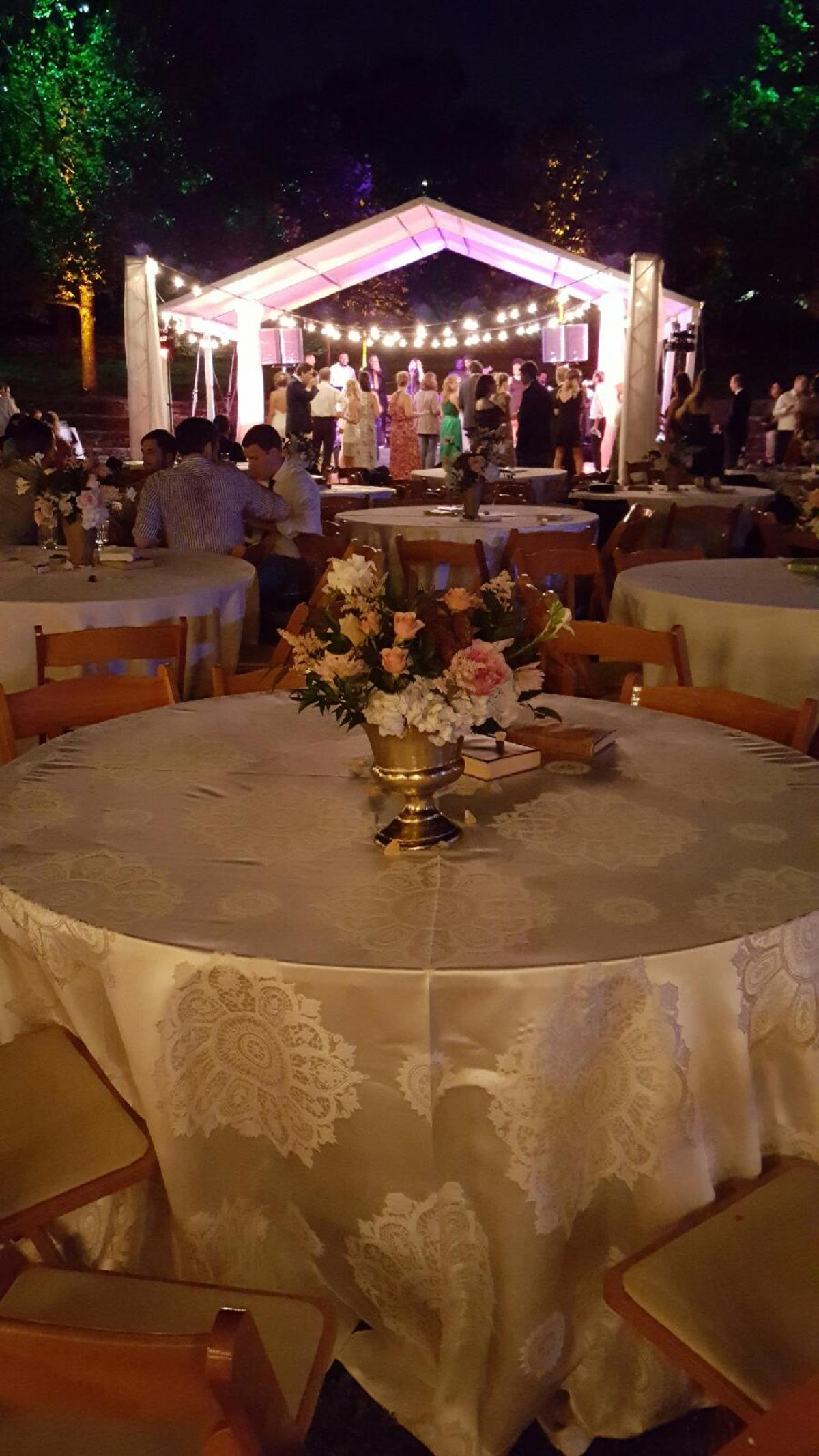 Elegant Golden Tablescape