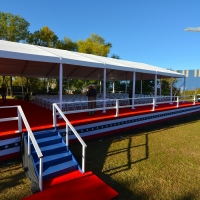 Port of Houston 100th Frame Tent Rental