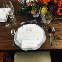 Table Setting with Silverware