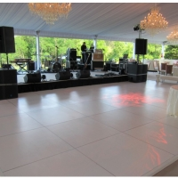 White Dance Floor Rental