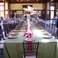 Chiavari Chairs Around Elegant Table Setting