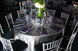 Chiavari Chairs with Round Tables