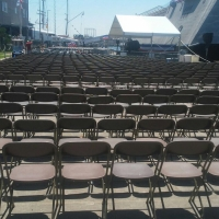 Chairs and Tent
