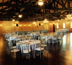 Chiavari Chairs and Rental Tables in an Intimate Setting