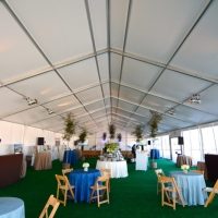 Tent and Table Setting