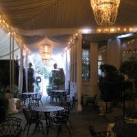 Elegant Decor Under Frame Tent Rental