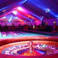 Casino Night Colored Lighting