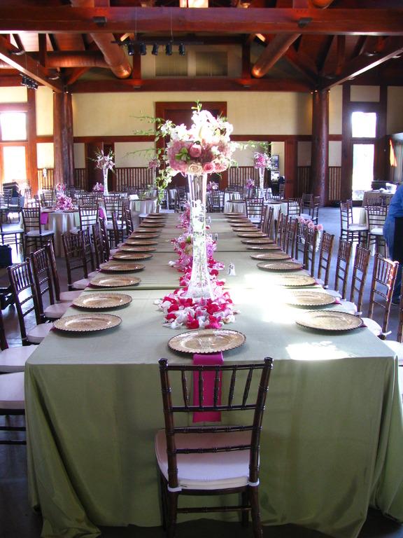 Chiavari Chairs Around Elegant Table Setting
