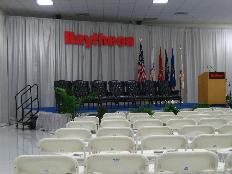 Raytheon Event Stage