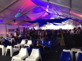White Structure Tent Rental With Lighting