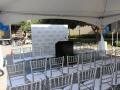 Silver Chiavari Chair Rentals Seating Arrangement