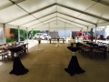 Clean Structure Tent Tablescape
