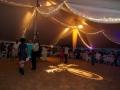 Elegant Setup Under White Pole Tent Rental