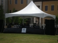 Frame Tent With Staging