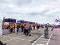 Long Row of Tent Facades