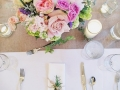 Rental Silverware Rustic Decor Floral Centerpiece