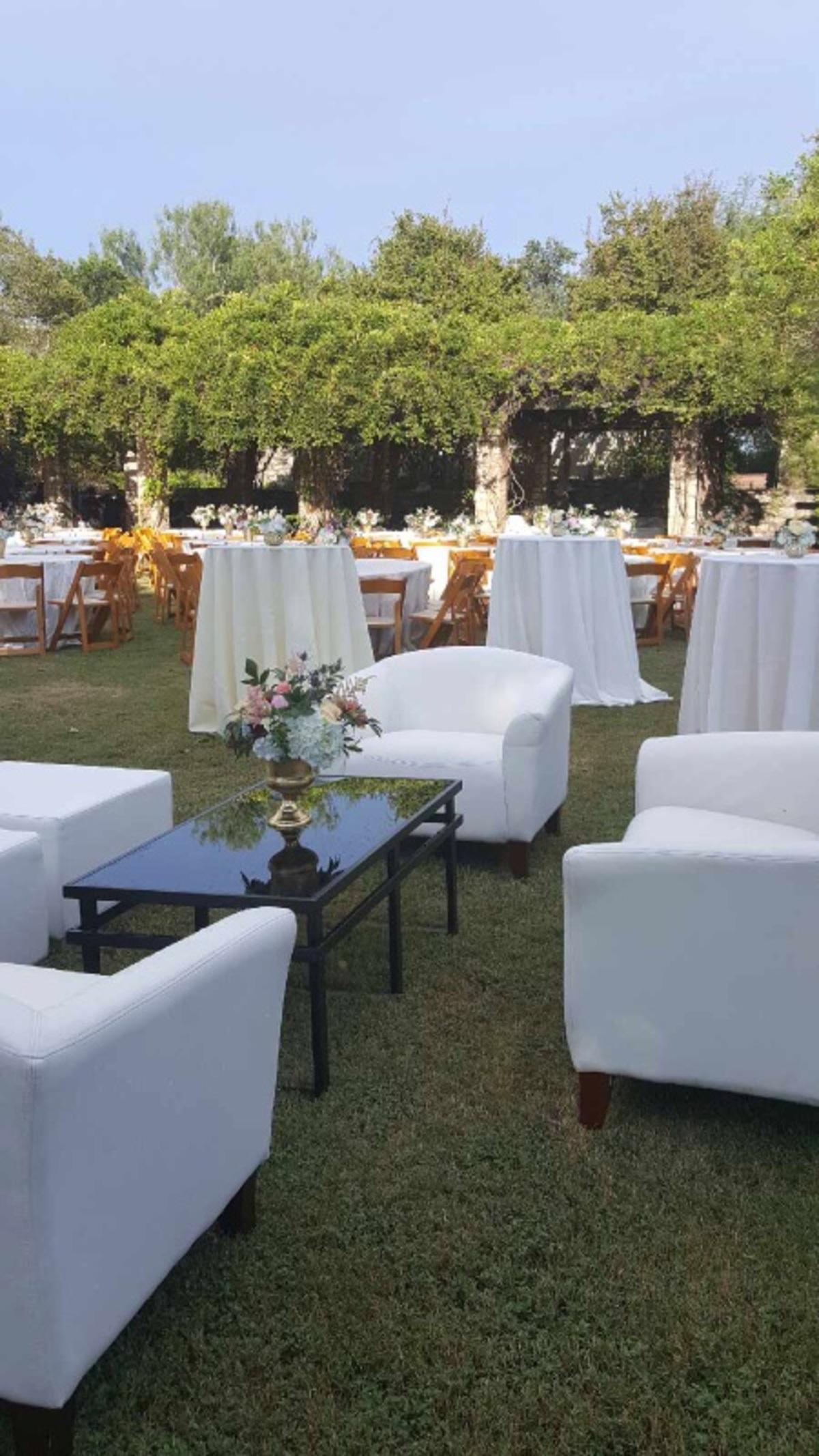 Outdoor rental furniture