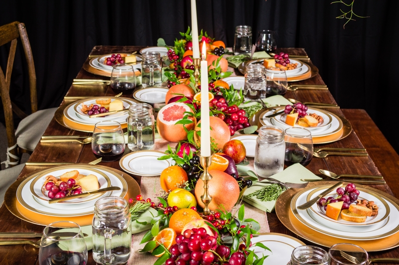 Festive Thanksgiving Tablescapes Peerless Events And Tents