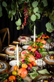 Beautiful Thanksgiving Tablescape