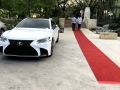 Red Carpet Entrance at Lexus Luxury Vehicle Launch