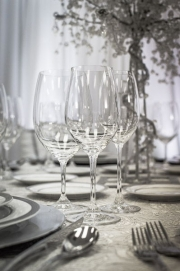 Close-up Elegant Glassware