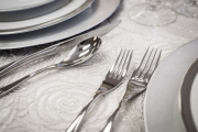 Close-up of Elegant Flatware