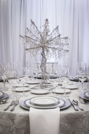 Elegant Crystal Centerpiece