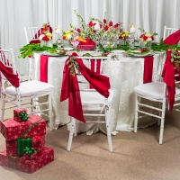 Christmas Rental Tablescape