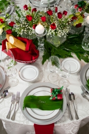 Place Setting and Centerpiece