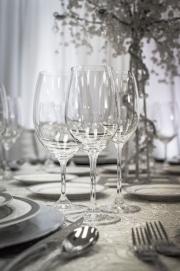 Close-up Elegant Glassware
