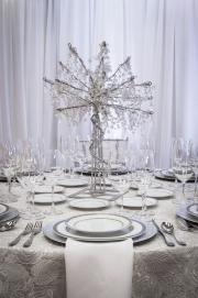Elegant Crystal Centerpiece