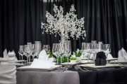 Big Elegant Crystal Centerpiece