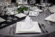View of Table Setting and Tablescape