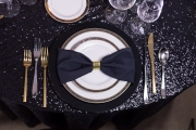 New Year's Rental Table Setting