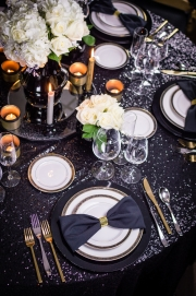 New Year's Tablescape Overview