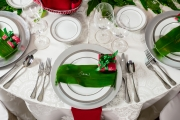 Christmas Themed Place Setting
