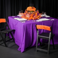 A Halloween Themed Tablescape