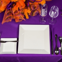 Rental Halloween Themed Place Setting