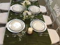 Overview Thanksgiving Tablescape