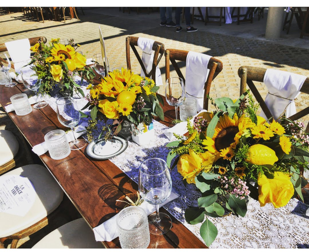 San Antonio Botanical Gardens 2018 Tablescape Peerless Events and Tents