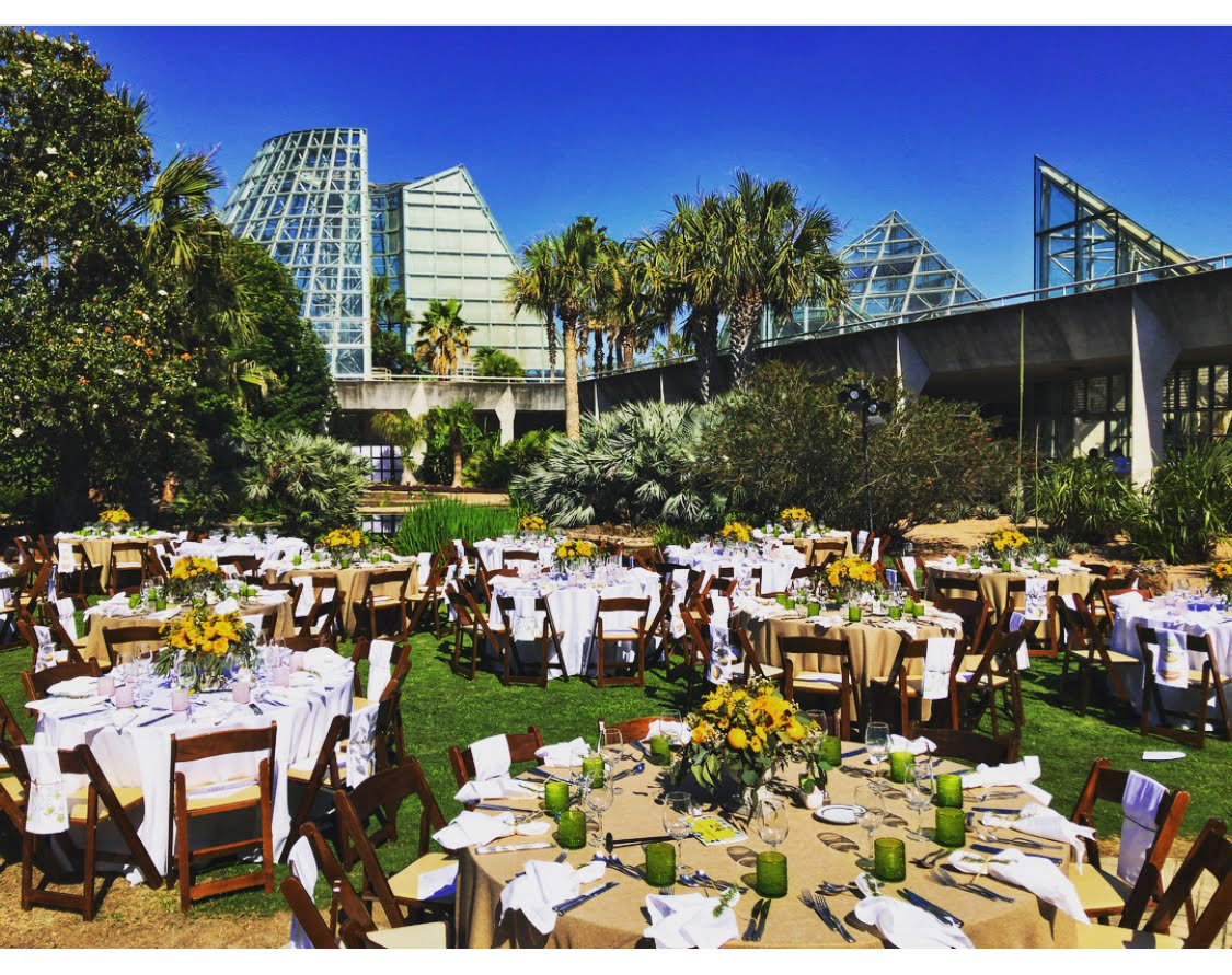 San Antonio Botanical Gardens Gala 2018 Outdoor Event View