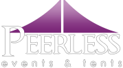 Peerless Events & Tents Rental Logo Large