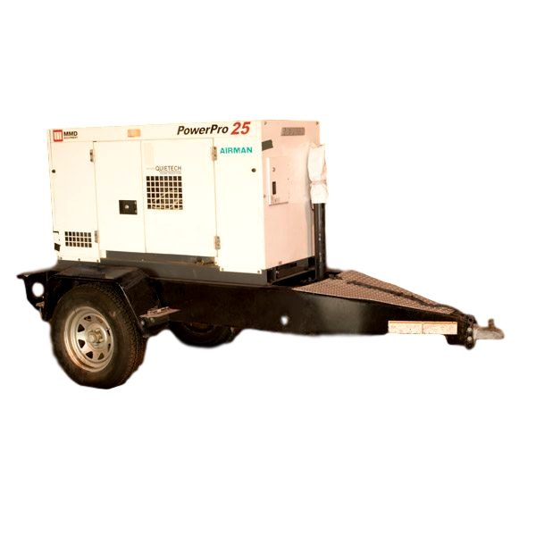 25KvW Diesel Generator Rental