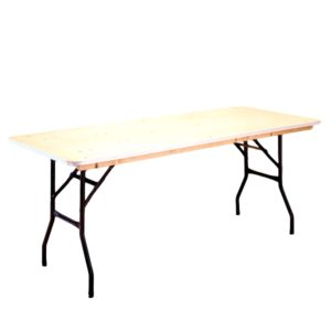 6'x30″ Rectangle Table Rental