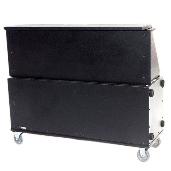 6′ Portable Folding Bar On Wheels Rental