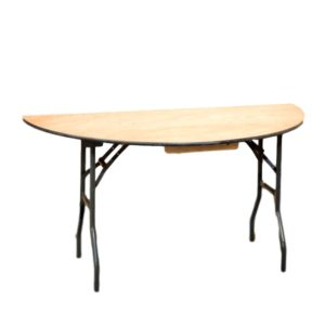 60″ Half Round Table Rental