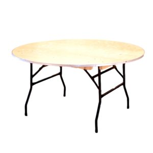 60″ Round Table Rental