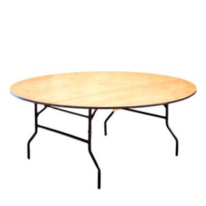 72″ Round Table Rental