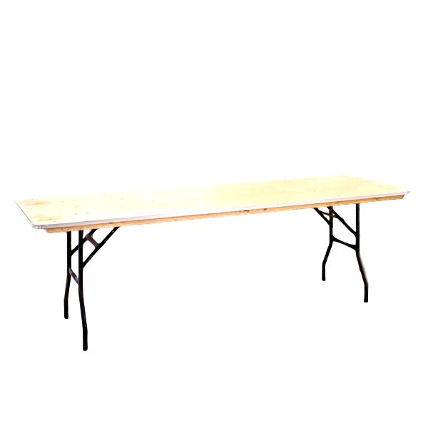 8'x30″ Rectangle Table Rental